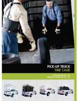 Pickup Truck Tire Cage