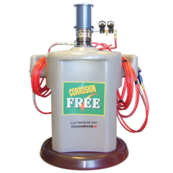 corrosion free system 348